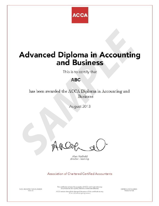 DIPLOMA IN ACCOUNTING AND BUSINESS – Excellence Training
